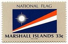 Buy Marshall Islands 1V MNH Scott #700- National Flag