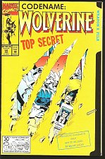 Buy WOLVERINE #50 VF+/NM Special Effects Slashed Cover Marvel Comics '92