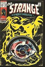 Buy Dr. Strange #181 Gene Colan Marvel Comics VF-/VF 1969 SIGNED by Frank Brunner