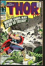 Buy THOR #132 Stan Lee Jack Kirby Marvel Comics 1966