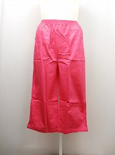 Buy PLUS SIZE 24W Women Cotton Capris Solid Pink Side Pockets Inseam 20 Elastic Wais