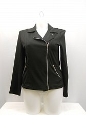 Buy SIZE M Motorcycle Jacket ABS ESSENTIAL Black Long Sleeve Collared Neck Lt.Weight