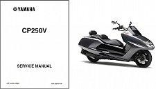 Buy Yamaha CP250 Morphous - Maxam 250 Scooter Service Manual on a CD