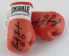 Buy Autographed Mini Boxing Gloves Randolph Turpin