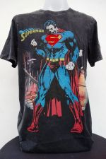Buy Superman blue and black body Cotton T-Shirt Super Hero Dc comics,Warner Bros.