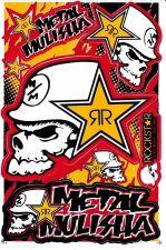 Buy 1 sheet New Rockstar Energy, Motocross Racing sticker Free shipping 02