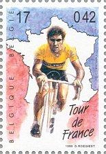 Buy Belgique 1999 Belgie 1v Stamp Eddie Merckx Journey through the 20th century