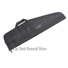 "Buy Soft Sided 42"" Tactical Gun Case Rifle Carrying Bag 5 Ammo Clip Pockets Range"