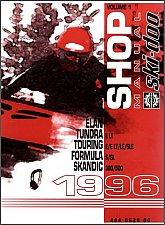 Buy 1996 Ski-Doo Elan Tundra Touring Formula Scandic Service Manual on a CD