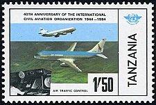 Buy Tanzania 1v mnh Stamp 1984 MNH Air Tanzania