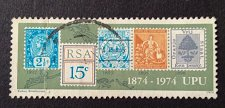 Buy South africa Mi446 1 v used stamp 1994 Centenary of the U. P.U.