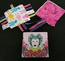 Buy Set of 3 handmade crinkle ribbon toys
