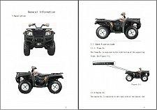 Buy Hisun HS700 ( HS700ATV ) ATV Service Manual on a CD