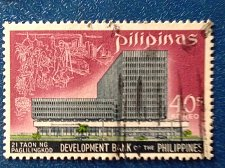 Buy Philippines stamp Used 1969 Scott 1029 40s New Building of the Philippine Bank