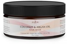 Buy Anjou Argan Oil Hair Mask 8OZ, Hair Treatment, Deep Coconut Oil Conditioner For