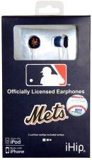 Buy MLB New York Mets Printed Ear Buds, iHip