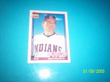 Buy 1991 Topps Traded mike hargrove indians #52T mint free ship