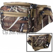 Buy JX Swamper Camo Water-Resistant Waist Bag Fanny Pack Tummy with 5 Compartments