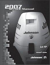 Buy Johnson 2.5 HP 4-Stroke Outboard Motor Service Manual on a CD