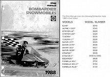 Buy 1988 Ski-Doo Service Repair Shop Manual CD - Stratos Elan Tundra Formula Safari