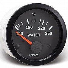 Buy VDO 250F Water (coolant) Temperature Gauge 310 010 006D RV MotorHome