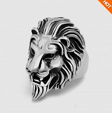 Buy Lion King Sterling Silver Stainless Men Ring Handmade Biker