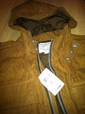 Buy Lucky Brand XL Heritage Parka 7M30470 Color Tobacco New With Tags