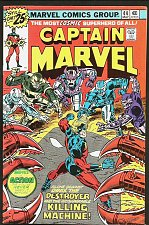 Buy CAPTAIN MARVEL #44 Marvel Comics 1976 Milgrom Guardians of the Galaxy