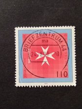 Buy Germany 1 v used stamp 1999 Michel 2047 Anniv. of Orders of Knights of St.John