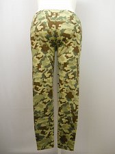 Buy Women Leggings PLUS SIZE Camouflage Print SIZE 1X 2X 3X 4X Skinny Legs Inseam 29