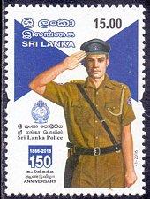 Buy Sri Lanka Post: 2016 MNH Army Thematic – Sri Lanka Police 1v Stamp