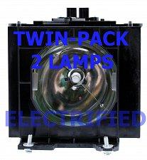 Buy PANASONIC ET-LAD35W ETLAD35W TWIN PACK LAMPS IN HOUSINGS FOR MODEL PTD3500E