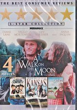 Buy 4movie DVD A Walk on the Moon,KANSAS,Silk Hope,Nothing Too Good For A Cowboy