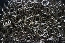 "Buy DIY 0.5"" 1/2"" Lot 10 50 100 Pcs Nickel Silver Color Split Key Ring Keychain"