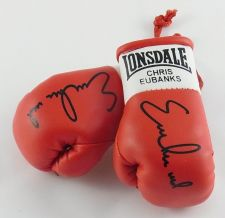 Buy Autographed Mini Boxing Gloves Chris Eubank