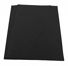 Buy Craft Foam Sheets--12 x 18 Inches - Black - 5 Sheets-2 MM Thick