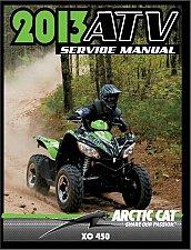 Buy 2013 Arctic Cat XC 450 ATV Service Repair Workshop Manual CD - XC450 450XC