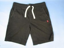 Buy Ralph Lauren Polo Knit Drawstring Workout Shorts Mens Sz M Black NWT $50