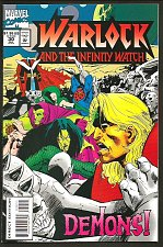 Buy Warlock and the Infinity Watch 30 VF/NM-1994 Jim Starlin Guardians of the Galaxy