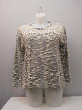 Buy Womens Tunic Sweater STYLE&CO PLUS SIZE 1X Studded Lace Yoke Long Sleeves