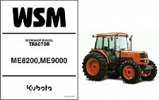 Buy Kubota ME8200 ME9000 ME8200DTN Tractor Service Repair Workshop Manual CD
