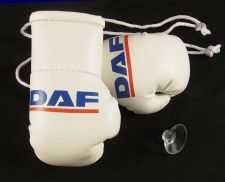 Buy Daf Trucks Mini Boxing Gloves for Lorries/Trucks.
