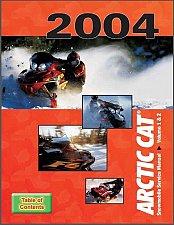 Buy 2004 Arctic Cat Snowmobiles (Bearcat Firecat Sabercat Pantera) Service Manual CD