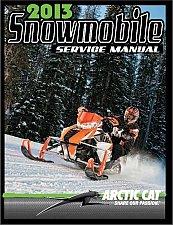 Buy 2013 Arctic Cat All 2 & 4 Stroke Model Snowmobiles Service Repair Manual CD