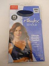 Buy Playtex 18 Hour Womens Bra 42DDD Solid Blue Wire Free Back Close Cushioned Strap