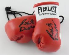 Buy Autographed Mini Boxing Gloves Roberto Duran