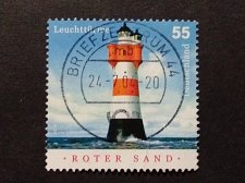 Buy Germany used 1v Lighthouse stamp, SG 3281: Roter Sands
