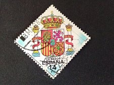Buy SPAIN Used 1983 1v Used Stamp Spanish Coat of Arms