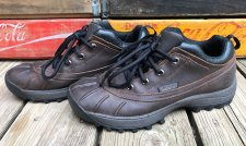 Buy TIMBERLAND Brown Leather Lace-up Sport Hiking Shoes Men's 9.5M #86198