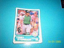 Buy 1988 Score Young Superstars series 1 baseball TERRY STEINBACH #16 FREE SHIP